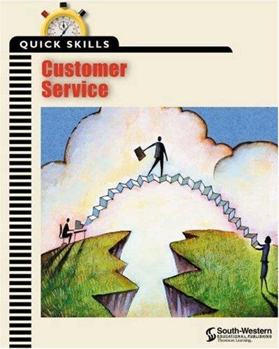Quick Skills Customer Service  2001 edition cover