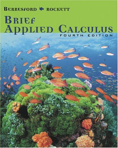 Brief Applied Calculus  4th 2007 edition cover