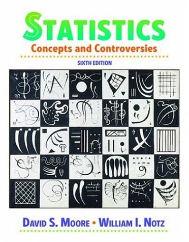Statistics Concepts and Controversies 6th 2006 edition cover