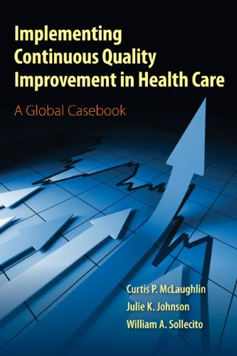 Implementing Continuous Quality Improvement in Health Care   2012 edition cover