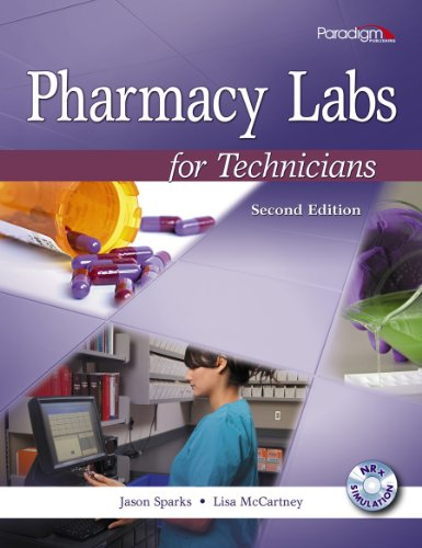 PHARMACY LABS F/TECHNICIANS-TE N/A 9780763852368 Front Cover
