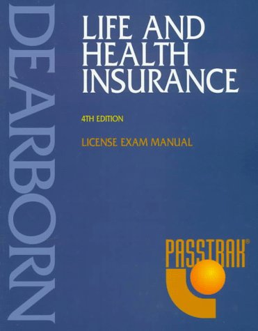Life and Health Insurance : License Exam Manual 4th 1997 edition cover