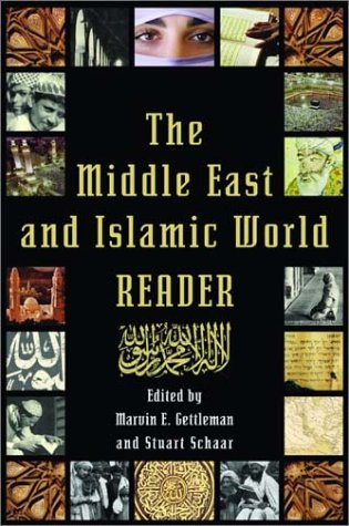 Middle East and Islamic World Reader   2003 edition cover