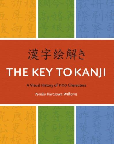 Key to Kanji : A Visual History of 1100 Characters = Kanji Etoki  2010 edition cover