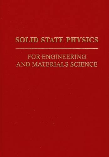 Solid-State Physics for Engineering and Materials Science  N/A edition cover