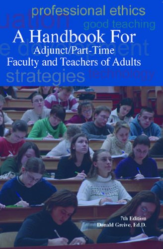 Handbook for Adjunct/Part-Time Faculty and Teachers of Adults, 7th 2005 (Revised) edition cover