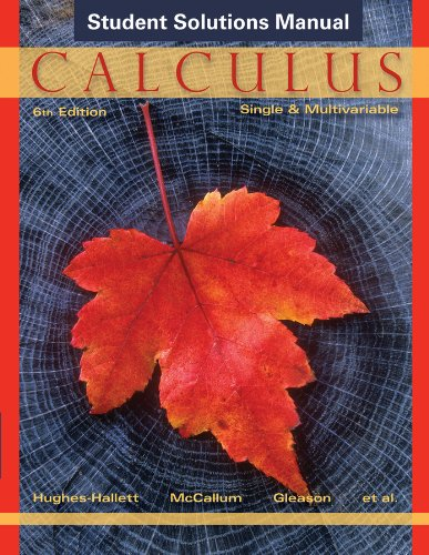 Calculus Single and Multivariable 6th 2013 edition cover