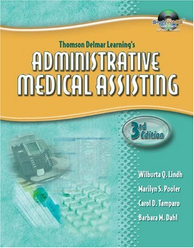 Administrative Medical Assisting  3rd 2006 (Workbook) 9781401881368 Front Cover