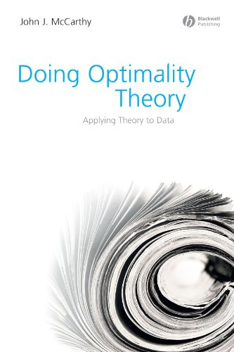 Doing Optimality Theory Applying Theory to Data  2008 edition cover