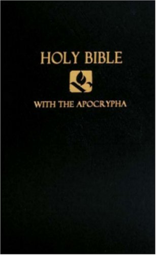 NRSV with Apocrypha Pew Bible Black  N/A edition cover