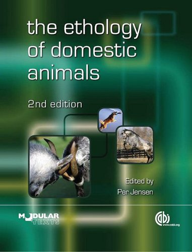 Ethology of Domestic Animals  2nd 2009 edition cover