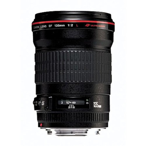 Canon EF 135mm f/2L USM Lens for Canon SLR Cameras - Fixed product image