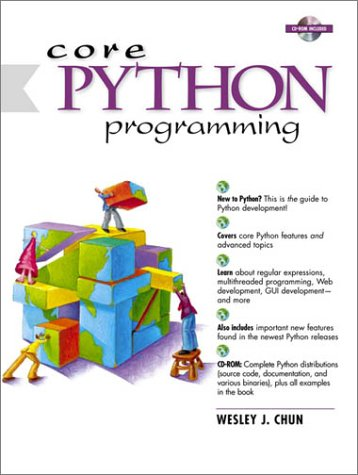 Core Python Programming   2001 edition cover