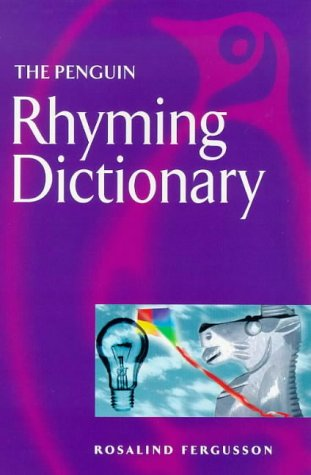 Penguin Rhyming Dictionary  4th 1985 edition cover
