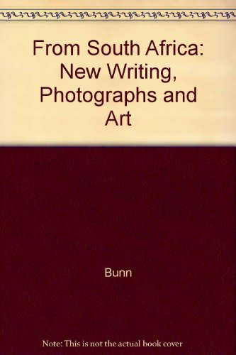 From South Africa : New Writing, Photographs and Art  1988 edition cover
