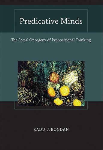 Predicative Minds The Social Ontogeny of Propositional Thinking  2009 9780262026369 Front Cover