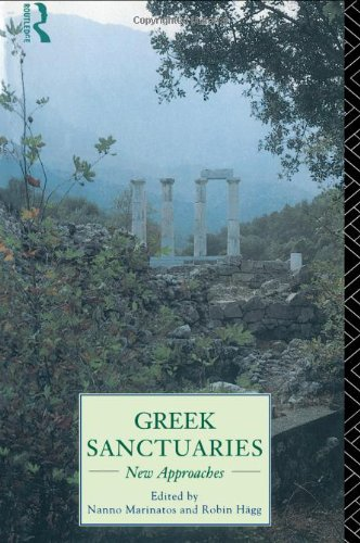 Greek Sanctuaries New Approaches  1995 edition cover