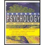 Abnormal Psychology Eleventh Edition Binder Ready Version   2010 9780470418369 Front Cover