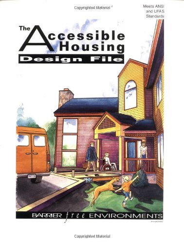 Accessible Housing Design File   1991 edition cover
