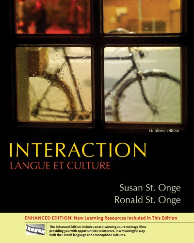 Interaction Langue et Culture 8th 2012 edition cover