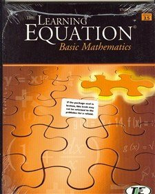 Learning Equation Basic Math Student Workbook, Version 3.5  4th 2004 (Workbook) 9780534420369 Front Cover