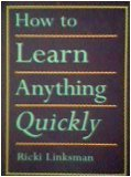 HOW TO LEARN ANYTHING QUICKLY 1st edition cover