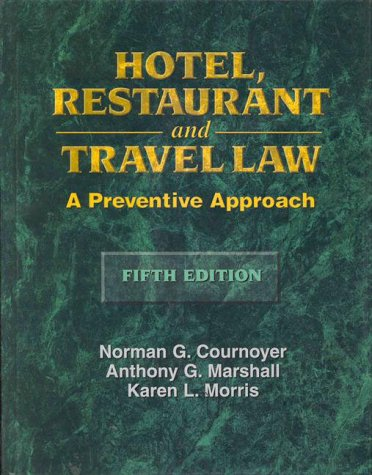 Hotel, Restaurant and Travel Law  5th 1999 edition cover