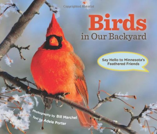 Birds in Our Backyard Say Hello to Minnesota's Feathered Friends  2011 9780873518369 Front Cover