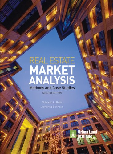 Real Estate Market Analysis Methods and Case Studies 2nd 2009 9780874201369 Front Cover
