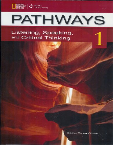 Pathways 1 Listening, Speaking, and Critical Thinking  2013 edition cover