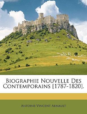 Biographie Nouvelle des Contemporains [1787-1820]  N/A edition cover