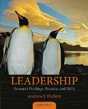 Leadership: Research Findings, Practice, and Skills  2015 edition cover