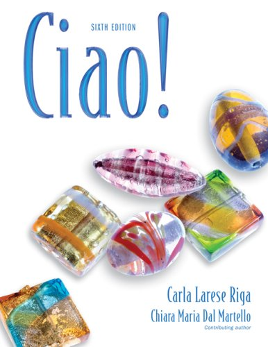 Ciao!  6th 2007 (Revised) edition cover