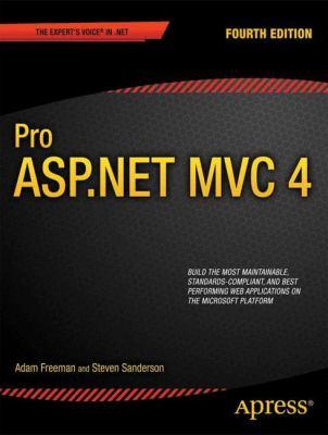 Pro Asp. Net Mvc 4  4th 2012 edition cover