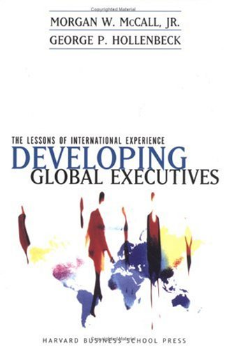 Frequent Flyers Developing Global Executives  2001 edition cover