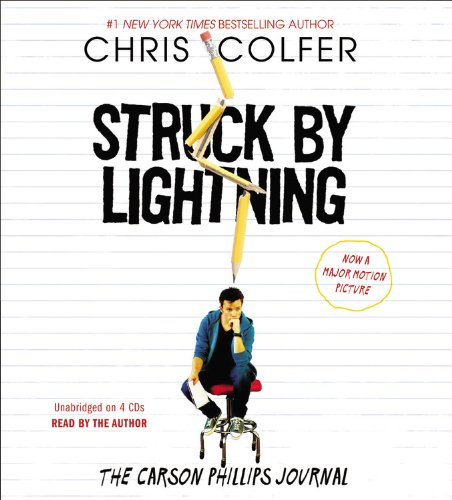 Struck by Lightning: The Carson Phillips Journal  2012 edition cover