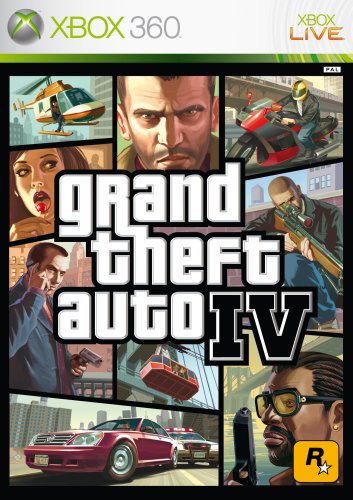 Microsoft XBox360 Game GTA4 - Grand Theft Auto IV USK18 (deutsch) Xbox 360 artwork
