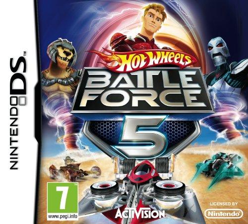 Hot Wheels: Battle Force 5 (Nintendo DS) Nintendo DS artwork