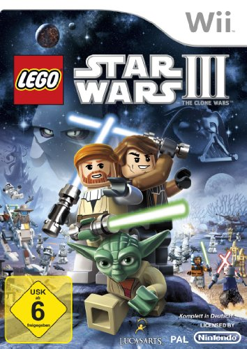 Lego Star Wars III: The Clone Wars Nintendo Wii artwork