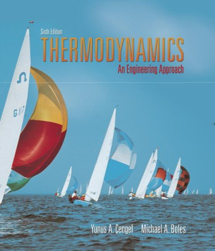 Thermodynamics An Engineering Approach with Student Resource DVD 6th 2008 edition cover