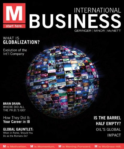 M- International Business   2012 edition cover