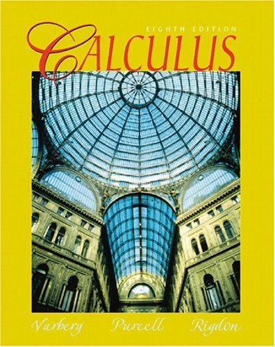 Calculus  8th 2000 (Student Manual, Study Guide, etc.) 9780130811370 Front Cover