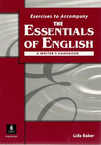 Essentials of English A Writer's Handbook  2004 edition cover