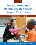 Articulation and Phonology in Speech Sound Disorders:   2015 edition cover