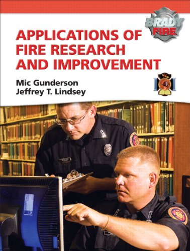 Applications of Fire Research and Improvement   2011 edition cover