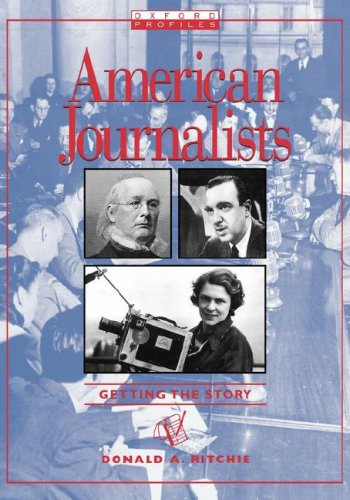 American Journalists  N/A 9780195328370 Front Cover