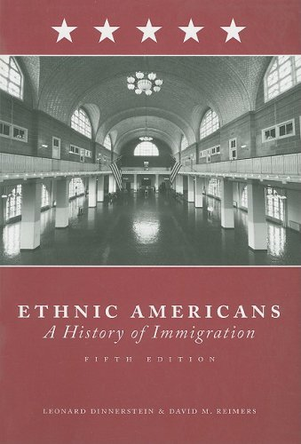 Ethnic Americans A History of Immigration 5th 2009 edition cover