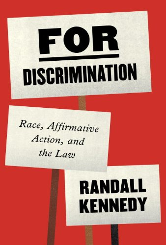 For Discrimination Race, Affirmative Action, and the Law N/A edition cover