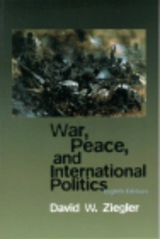 War, Peace, and International Politics  8th 2000 edition cover