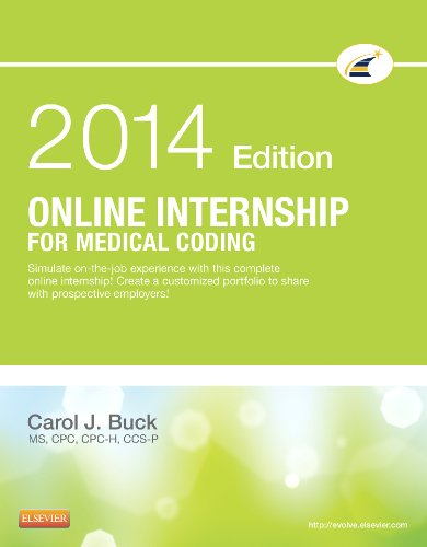 Online Internship for Medical Coding 2014 Edition (Retail Access Card)  N/A 9780323239370 Front Cover